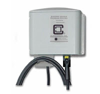 Mini-E electric Mini Cooper #339 My Mini-E field trial battery chargers