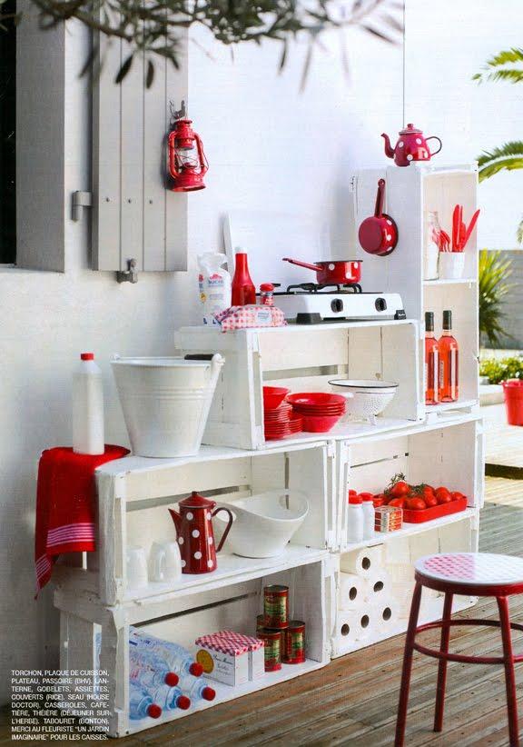 Muebles con materiales reciclados taringa - Muebles para cocina economica ...