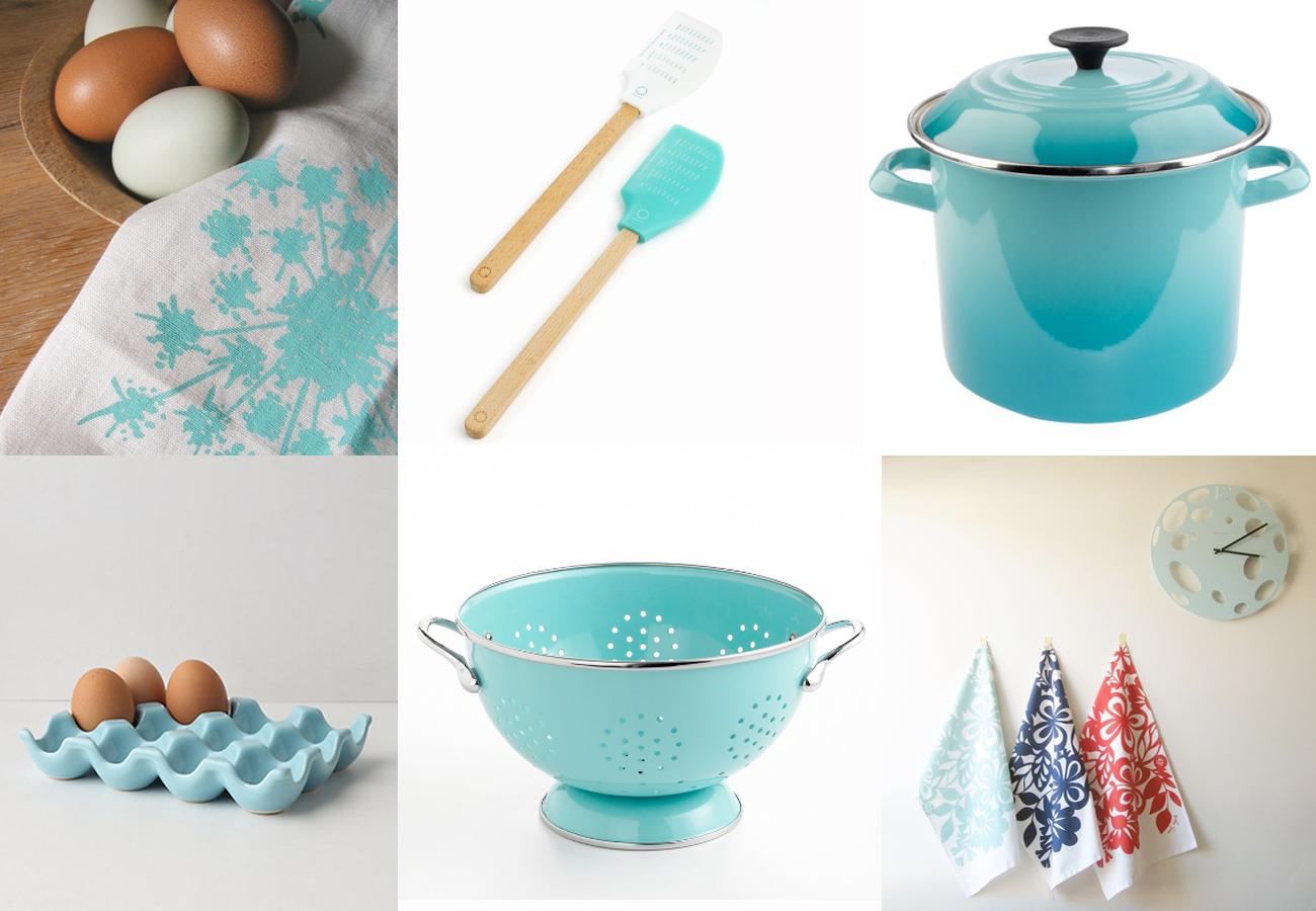 stephmodo: robin's egg blue for the kitchen