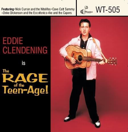 Eddie Clendening Is... The Rage Of The Teen-Age!