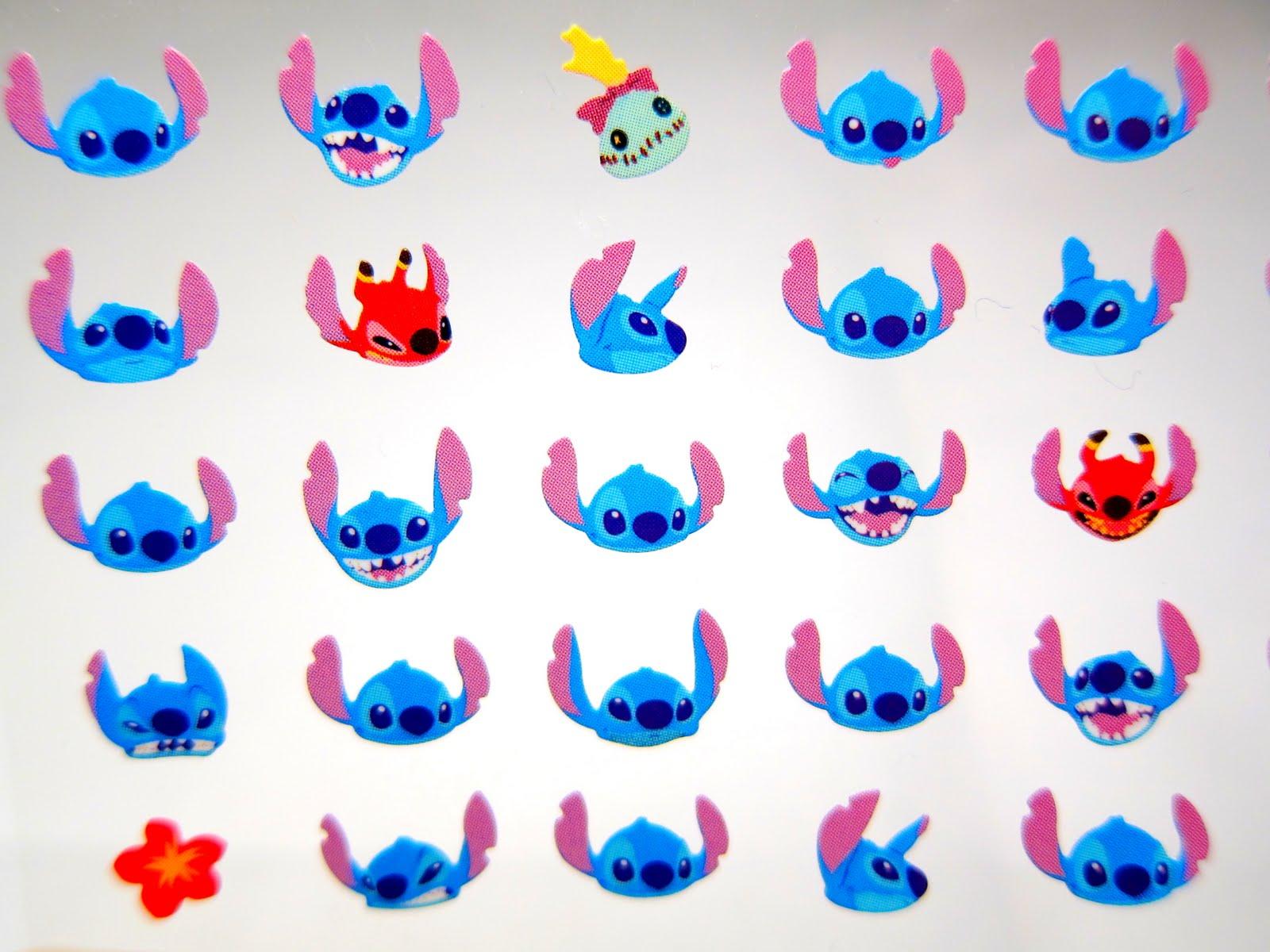 Cutetastic Disney Finds Stitch Expression Stickers