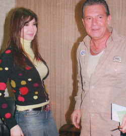 Nancy Ajram And Jiji Lamara