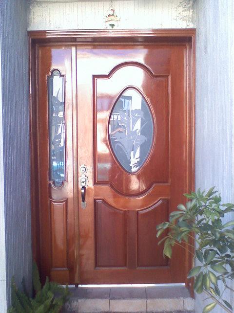 Estilo en madera estilo en madera for Puertas de acceso principal