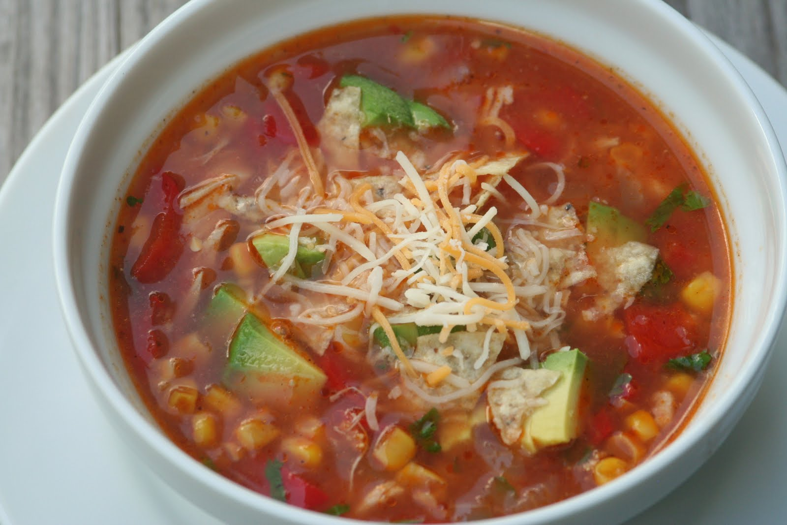 Healthy Goodness: Hearty Tortilla Soup