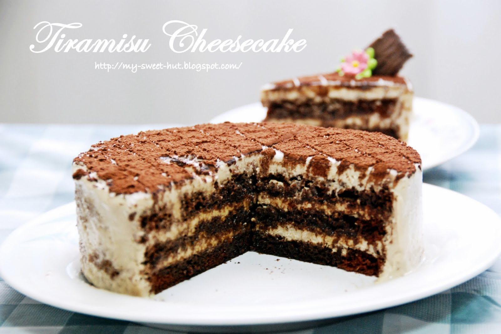 my-sweet-hut: Tiramisu Cheesecake