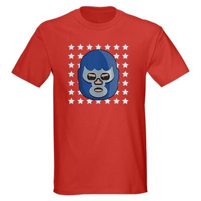 lucha+libre+blue+demon+tshirt lucha libre blue demon t shirt