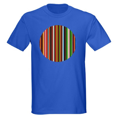ethernet wire rainbow t shirt