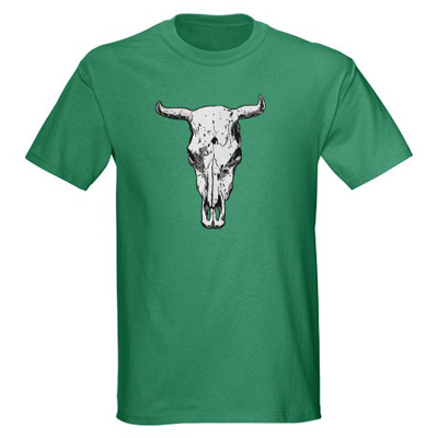 badass+bull+skull+t shirt Badass Bull Skull t shirt