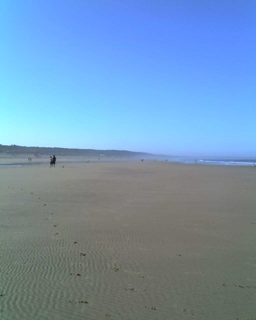 zona costeira, da costa da caparica, peninsula de setubal, portugal