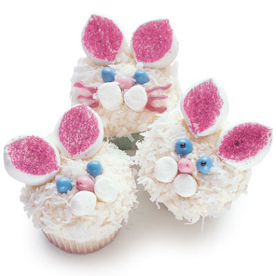easter cupcakes recipes for kids. easter bunny cupcakes recipes.