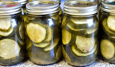 ... PICKLES~DILL, BREAD & BUTTER, OKRA, ZUCCHINI, RE-DONE & PICKLNG S...