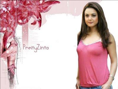 preity zinta kiss. Preity Zinta Smile