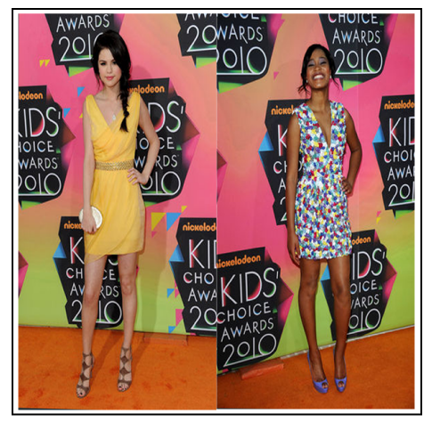 selena gomez kids choice awards dress. the Kids#39; Choice Awards.