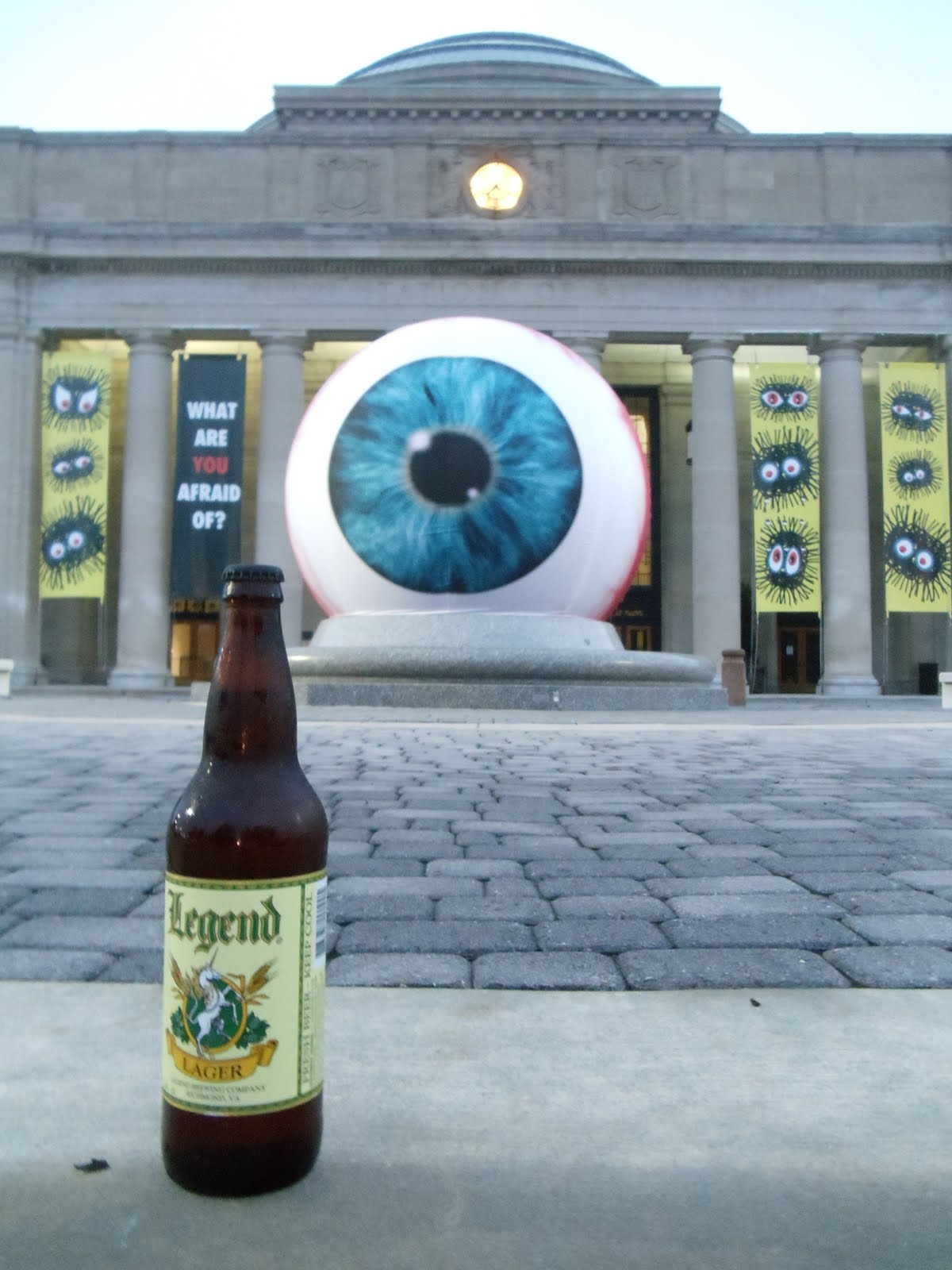 Brews With A View: Legend Lager - Science Museum - Richmond, VA