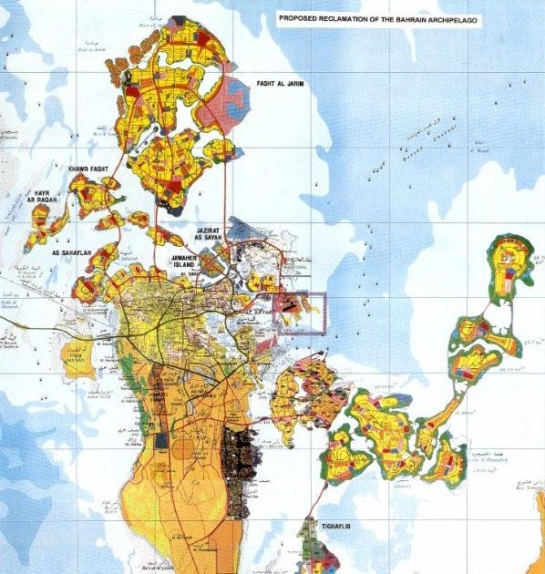 A Personal Online Sketchbook Again Bahrain - Bahrain interactive map