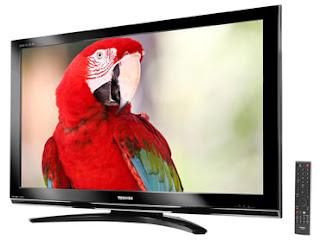 f4f98a18a TV LCD Semp Toshiba 46 polegadas Full HD 1080p DTV Modelo 46XV500DA. (Conversor  Digital Integrado)