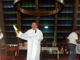 Pe. Stefano Gobbi, fundador do MSM, em fev/07 Natal-RN