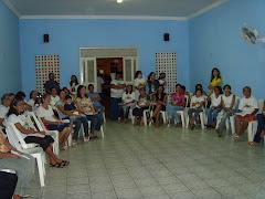 As famílias que já receberam o Cenáculo em seus lares.