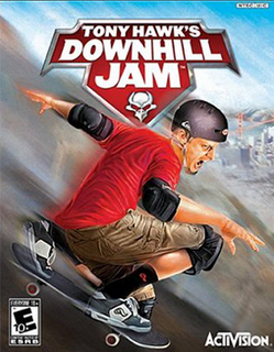 Tony Hawk's Downhill Jam 3D Java Mobile Game - The Mobile ...