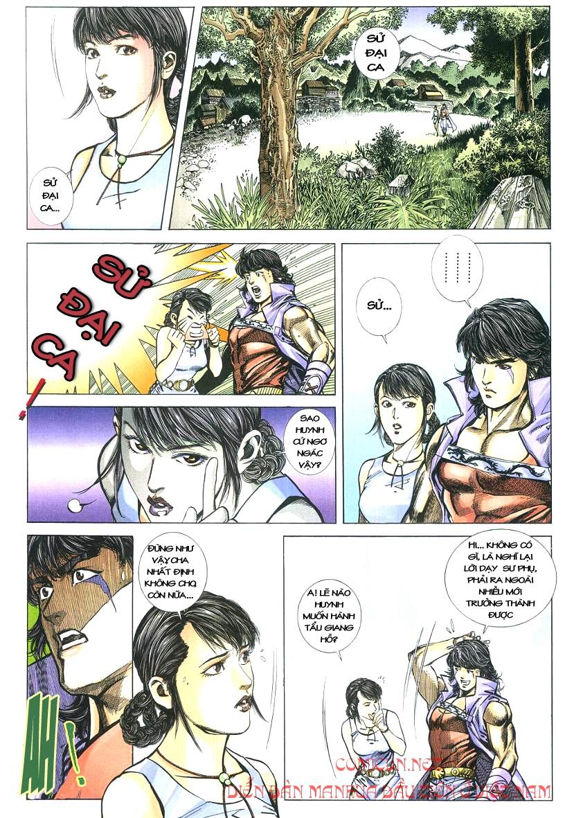 Thuỷ Hử Anh Hùng - Cửu Văn Long chap 2 - Trang 8