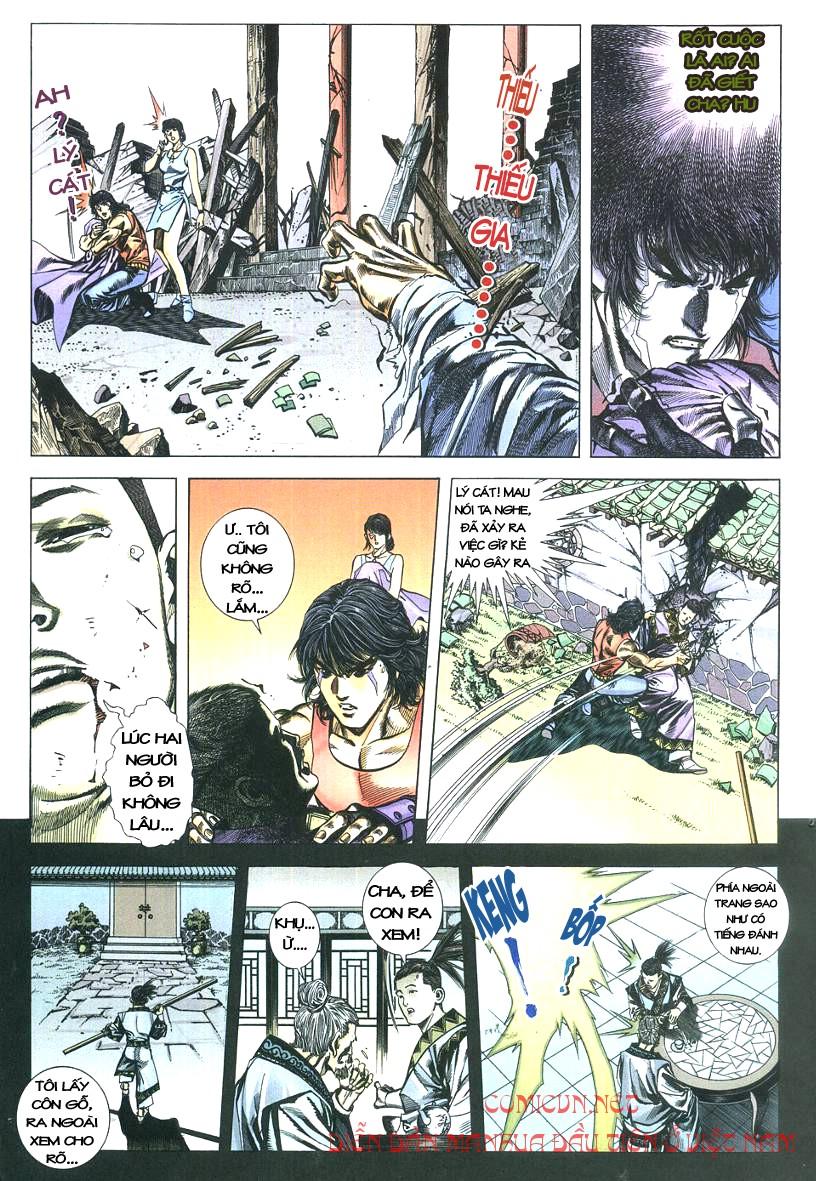 Thuỷ Hử Anh Hùng - Cửu Văn Long chap 2 - Trang 11