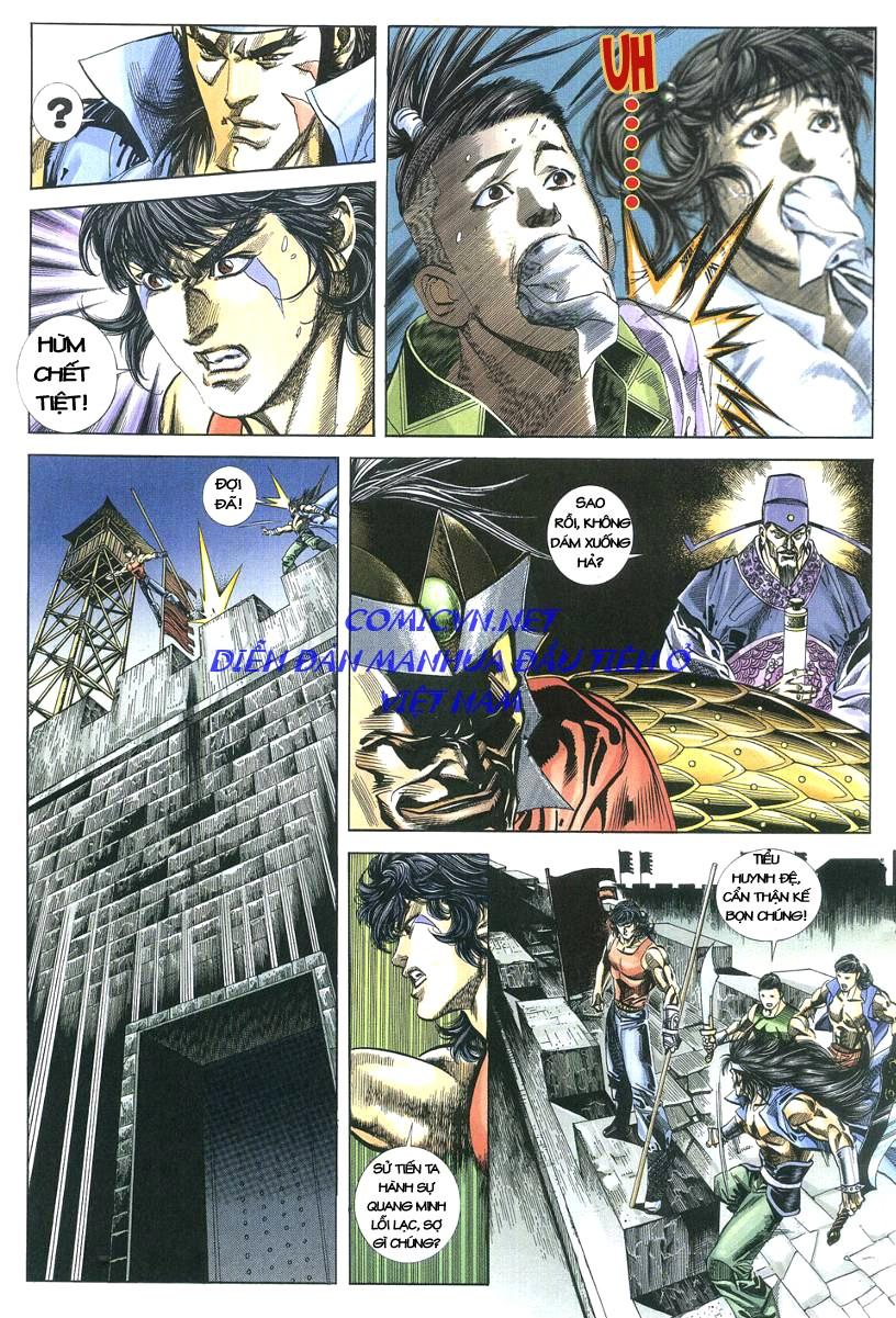 Thuỷ Hử Anh Hùng - Cửu Văn Long chap 3 - Trang 29