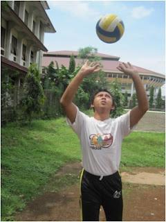 tata cara passing atas bola voli