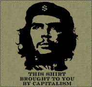 Che t-shirt produced under capitalism