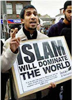 islam will dominate placard