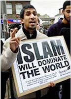 islam will dominate placard