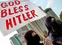 god bless placard