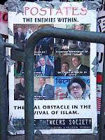 apostates placard