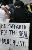 be prepared for the real holocaust placard