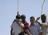 hanging gays in Iran
