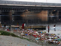 dirty Yamuna