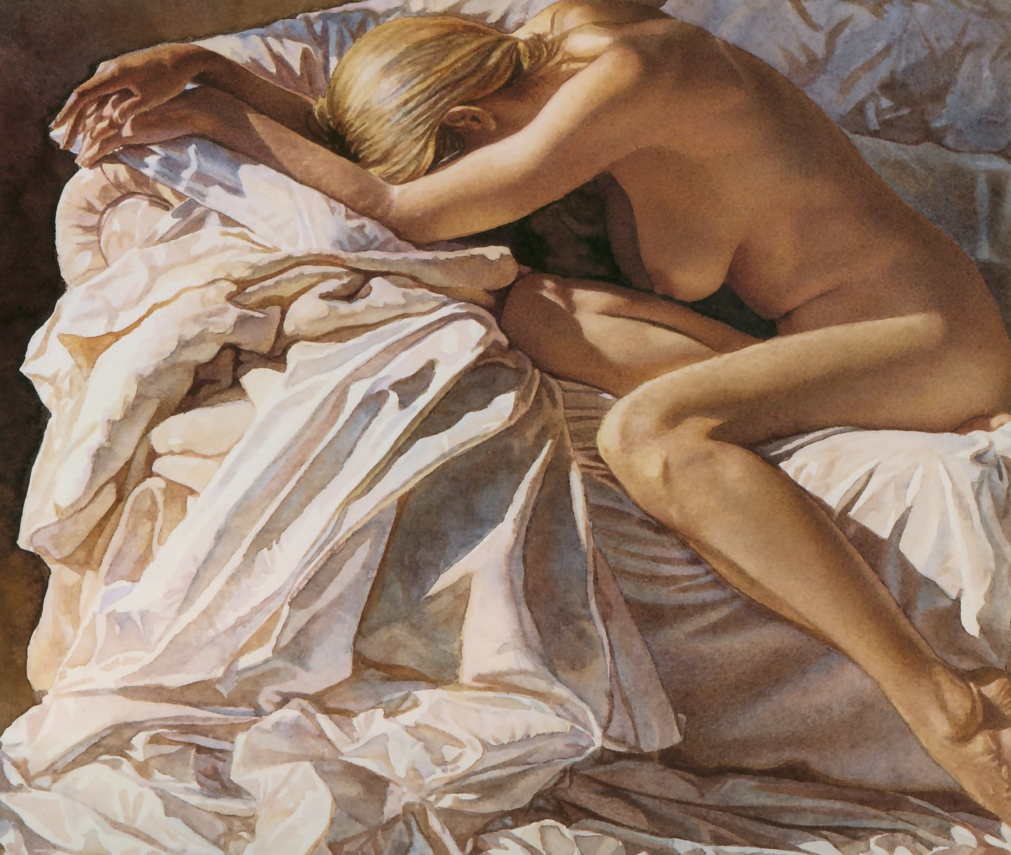 Steve Hanks- Blending into shadows and sheets