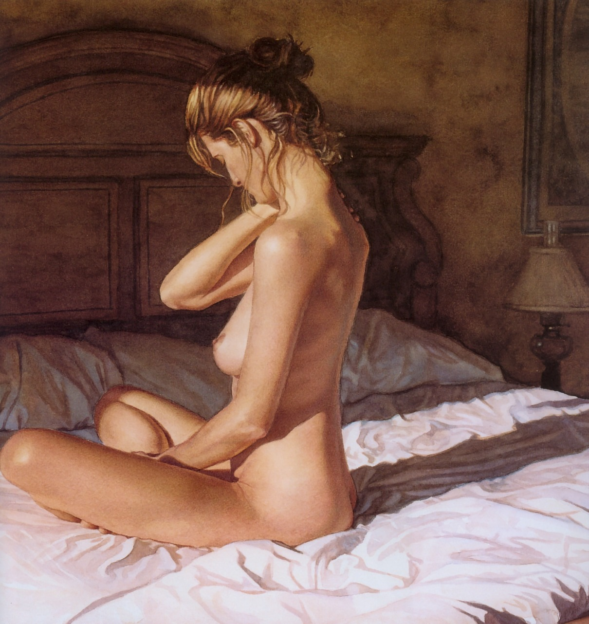 Steve Hanks- Casting her shadow