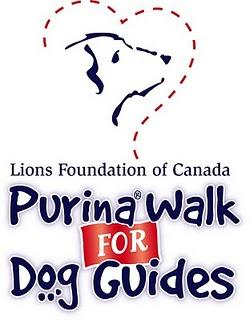 PWFDG+logo Guide Dog Walk