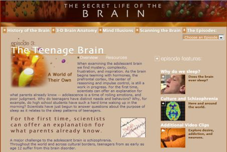 PBS Secret Life of the Brain