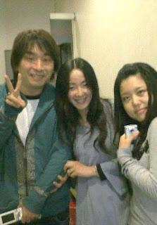 with Seki Tomokazu and Tanaka Atsuko