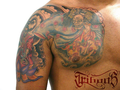 TRIBOOS TATTOO STUDIO: Finalizada