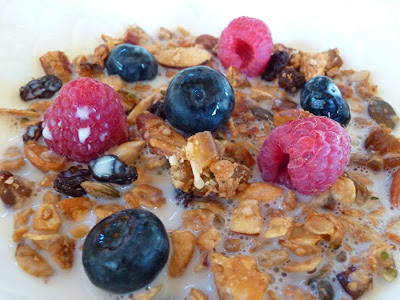 Foods for long life agave sweetened vegan granola make your own agave sweetened vegan granola make your own omega 3 rich oat cereal packed with heart healthy nuts and seeds ccuart Image collections