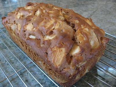 Apple Pear Loaf Cake Recipe