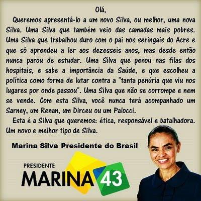 A Marina Silva do Brasil