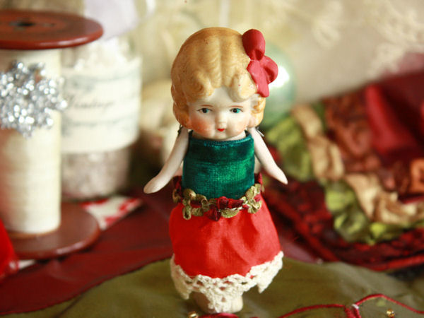 Sweet Little Doll for Christmas