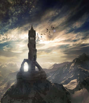 fantasy art wizard castle - photo #37
