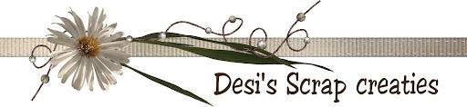 Welkom bij Desi's Scrap Creaties