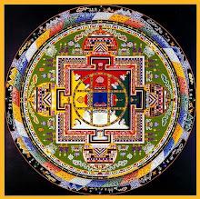 В буддизме есть особый ритуал - рисование мандалы (диаграммы, символизирующей духовные энергии) из цветного песка...