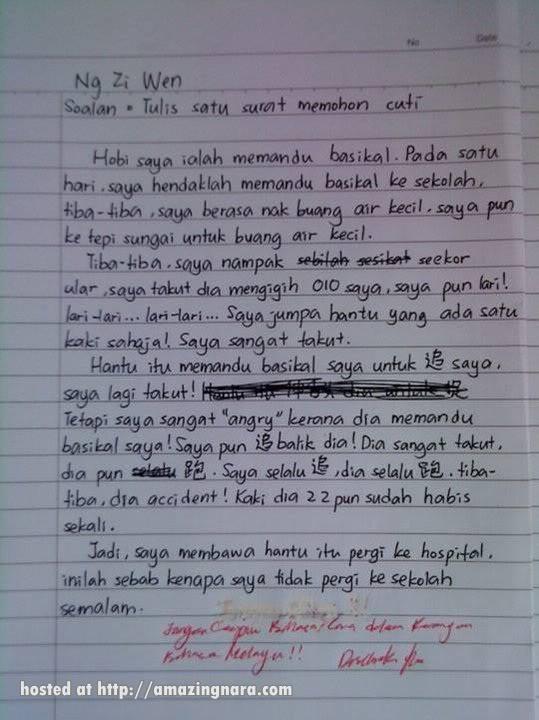 contoh essay yang baik dalam bahasa inggris