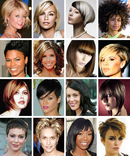 Most of the latest hairstyles are